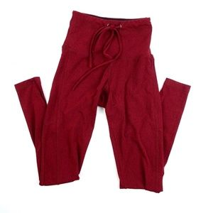 Strut This Crawford Ankle Legging XS Red Heather